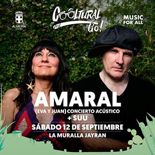 Concierto - Amaral + Suu - Cooltural Go!