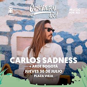 Concierto CARLOS SADNESS+ARDE BOGOTÁ - Cooltural Go!