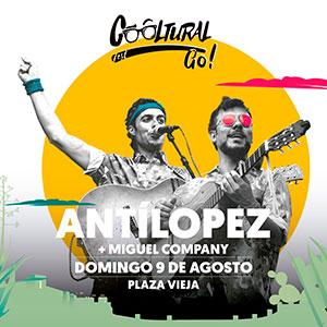 Concierto de ANTÍLOPEZ + MIGUEL COMPANY - Cooltural Go!