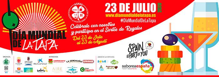 Día Mundial De La Tapa 2020 en Almería #DiaMundialDeLaTapa