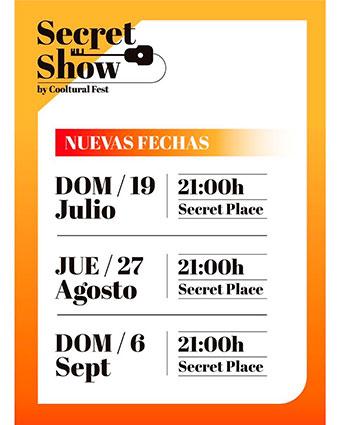 Experiencia SecretShow by CoolturalFest