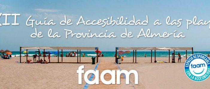 XIII Guía de Accesibilidad a las Playas de la provincia de Almería