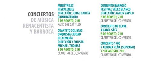 Festival de Música Renacentista y Barroca de Vélez Blanco 2020