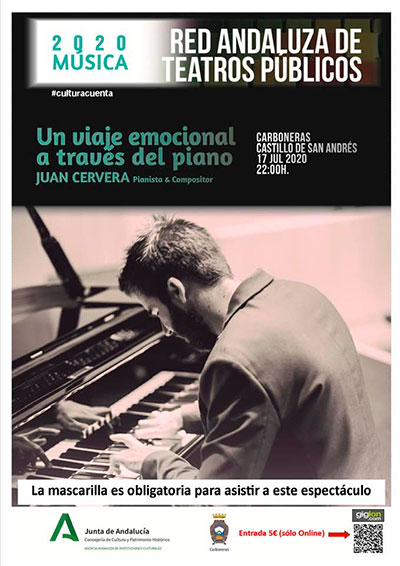 JUAN CERVERA: Un viaje emocional a través del piano