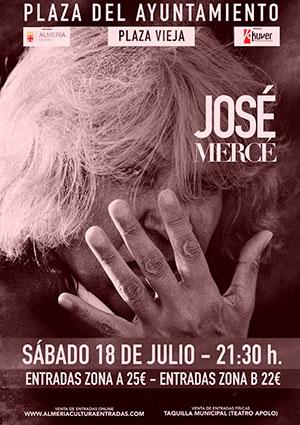 Concierto - José Mercé en Almería