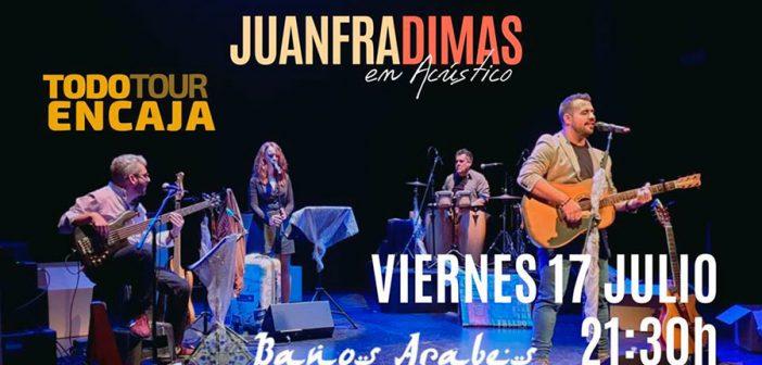 Juanfra Dimas en acústico en los Baños Árabes de Almería