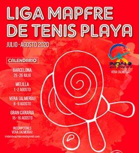 Liga MAPFRE de Tenis Playa en Vera