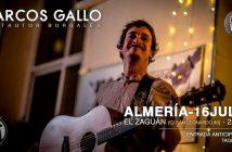 Marcos Gallo en Almería - Ciclo Vital