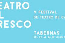 "V FESTIVAL DE TEATRO DE CALLE ""TEATRO AL FRESCO"" Tabernas."