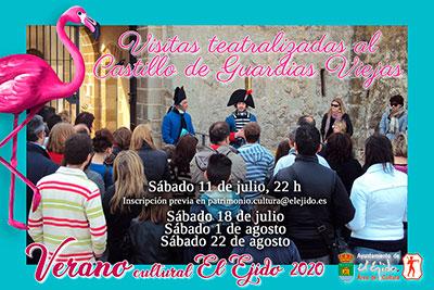 Visitas Teatralizadas al Castillo de Guardias Viejas