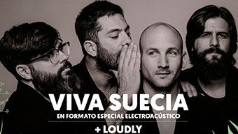 Concierto de VIVA SUECIA + LOUDLY - Cooltural Go!