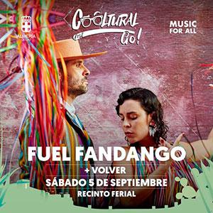 Concierto de Fuel Fandango - Cooltural Go!