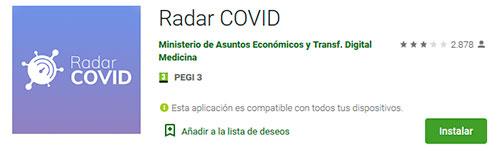 Android - Radar COVID
