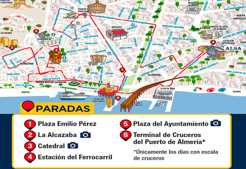 Tren Turístico de Almería