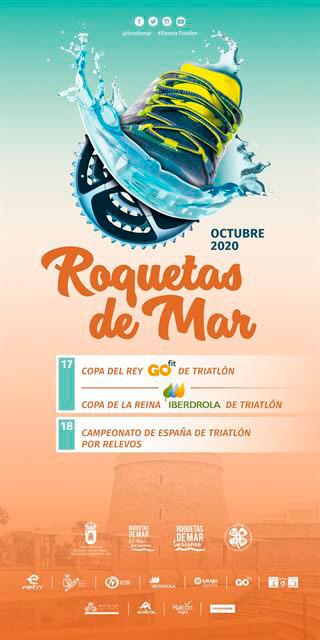 Copa del Rey y Copa de la Reina de Triatlón 2020 - Roquetas de Mar