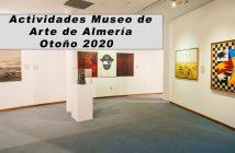 Actividades en el Museo de Arte de Almería - Otoño 2020
