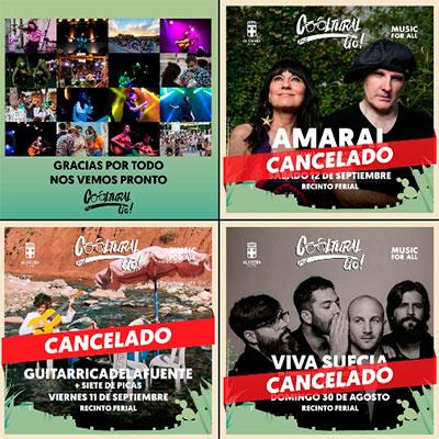 Cancelados todos los conciertos del Cooltural Go!