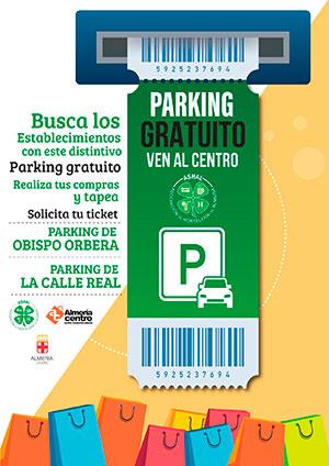 Aparca tu coche gratis en el centro de Almería - ASHAL