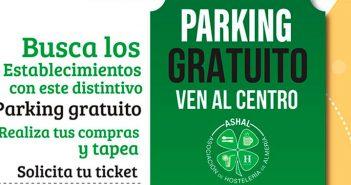 Aparca tu coche gratis en el centro de Almería con ASHAL
