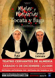 TOCATA Y FUGA  MALAS Y MALDECÍAS