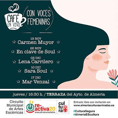 Café en vivo con voces femeninas - En Clave de Soul