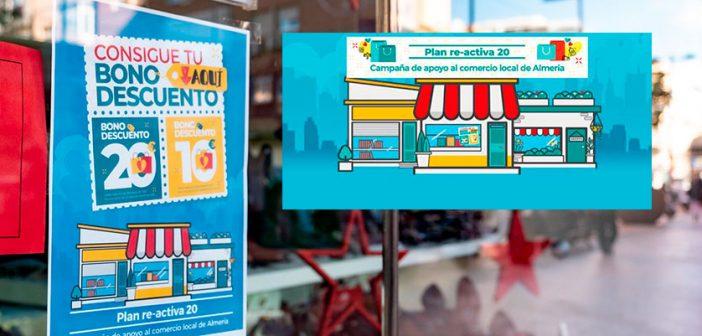 Bonos-descuento en comercios locales de Almería
