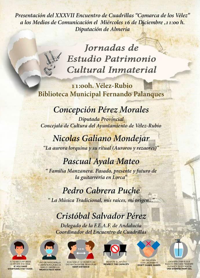 Encuentro de Cuadrillas de Vélez-Rubio 2020