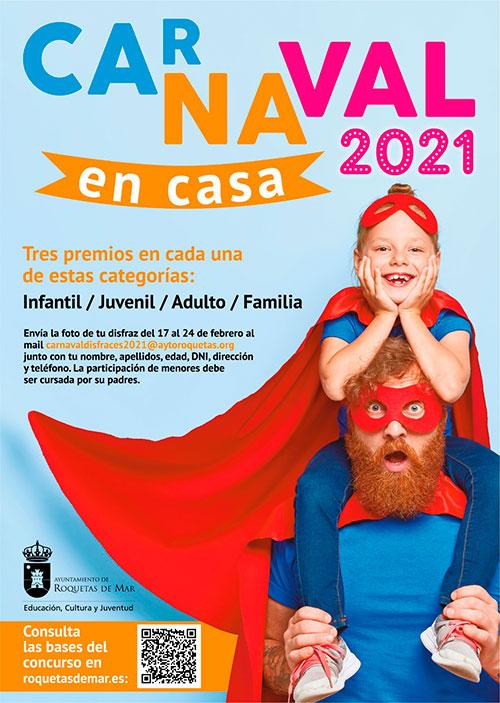 """""""Carnaval en Casa 2021"""" Roquetas de Mar"""