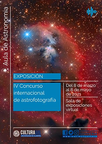 Exposición de astrofotografía virtual