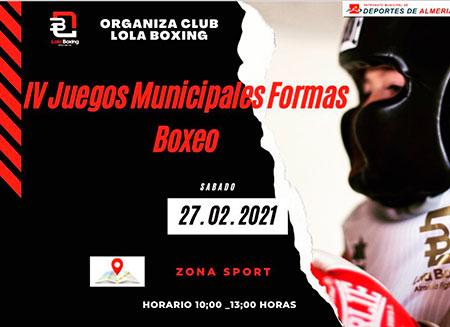 """IV Juegos Municipales de """"Formas de Boxeo"""""""