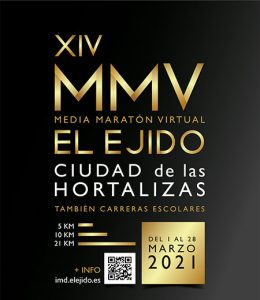 XVI Media Maratón Virtual El Ejido 2021
