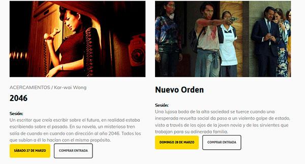XVIII Cineclub Almería VO 35 - Ciclo Invierno 2021