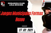 """IV Juegos Municipales de """"Formas de Boxeo""""."""