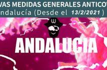Nuevas medidas anticovid-19 Almería - Febrero 2021