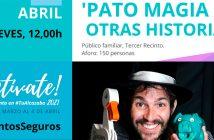 """Magia """"Pato Magia y otras historias"""" CM Alcazaba de Almería"""