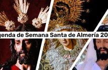 Agenda de Semana Santa 2021 de Almería
