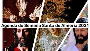 Agenda de la Semana Santa 2021 de Almería