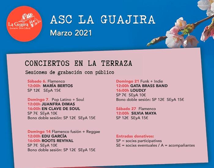 Programación La Guajira – Marzo 2021