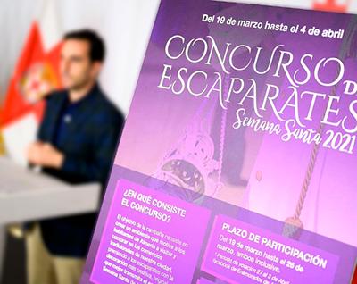 Concurso de escaparates Semana Santa de Almería 2021