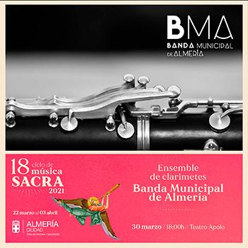 Ensemble de clarinetes BMA Ciclo de Música Sacra de Almería 2021