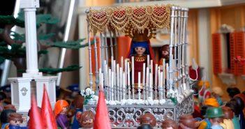 Exposición de Playmobil Semana Santa 2021 en Almería