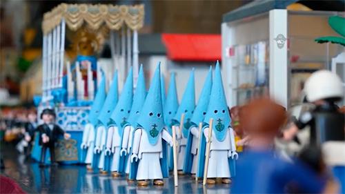 Exposición de Playmobil Semana Santa Almería