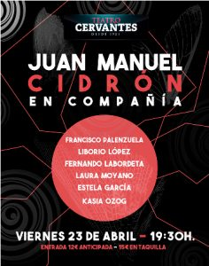 Juan Manuel Cidrón en Almería