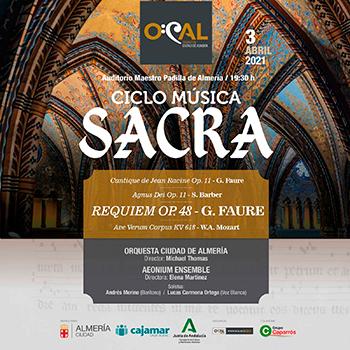 Orquesta Ciudad de Almería Ciclo de Música Sacra de Almería 2021
