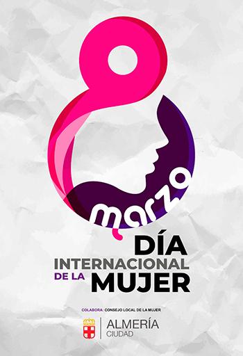 Programación 8M Dia Internacional de la Mujer en Almería