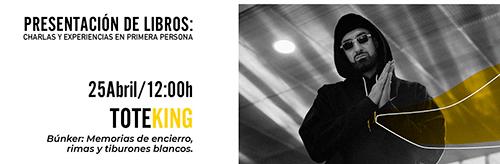 Tote King Escenario Literario en Huércal de Almería
