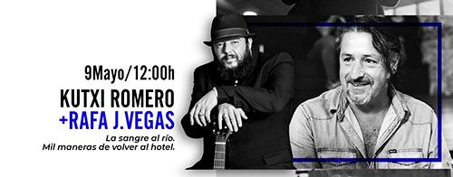 Kutxi Romero y Rafa J. Vegas Escenario Literario en Huércal de Almería
