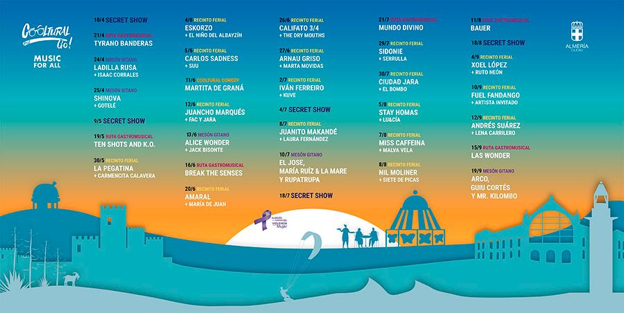Cooltural Fest Go 2021 - Festival de Música en Almería