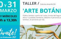 Taller de Arte Botánico en el CM Alcazaba de Almería