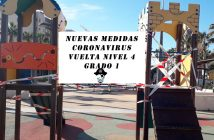 Nuevas medidas CORONAVIRUS VUELTA NIVEL 4 GRADO 1